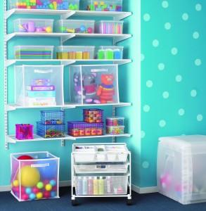 Aplicar las 5s en el entorno familiar for Kids room toy organizer