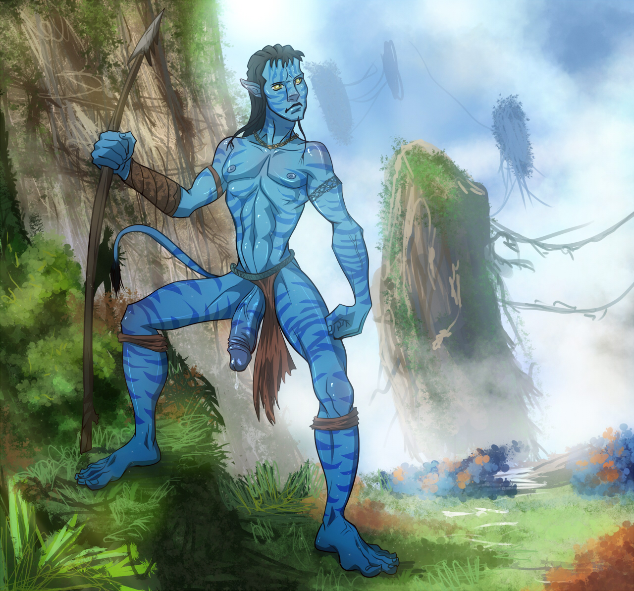 from Clyde gay sex clips of avatar
