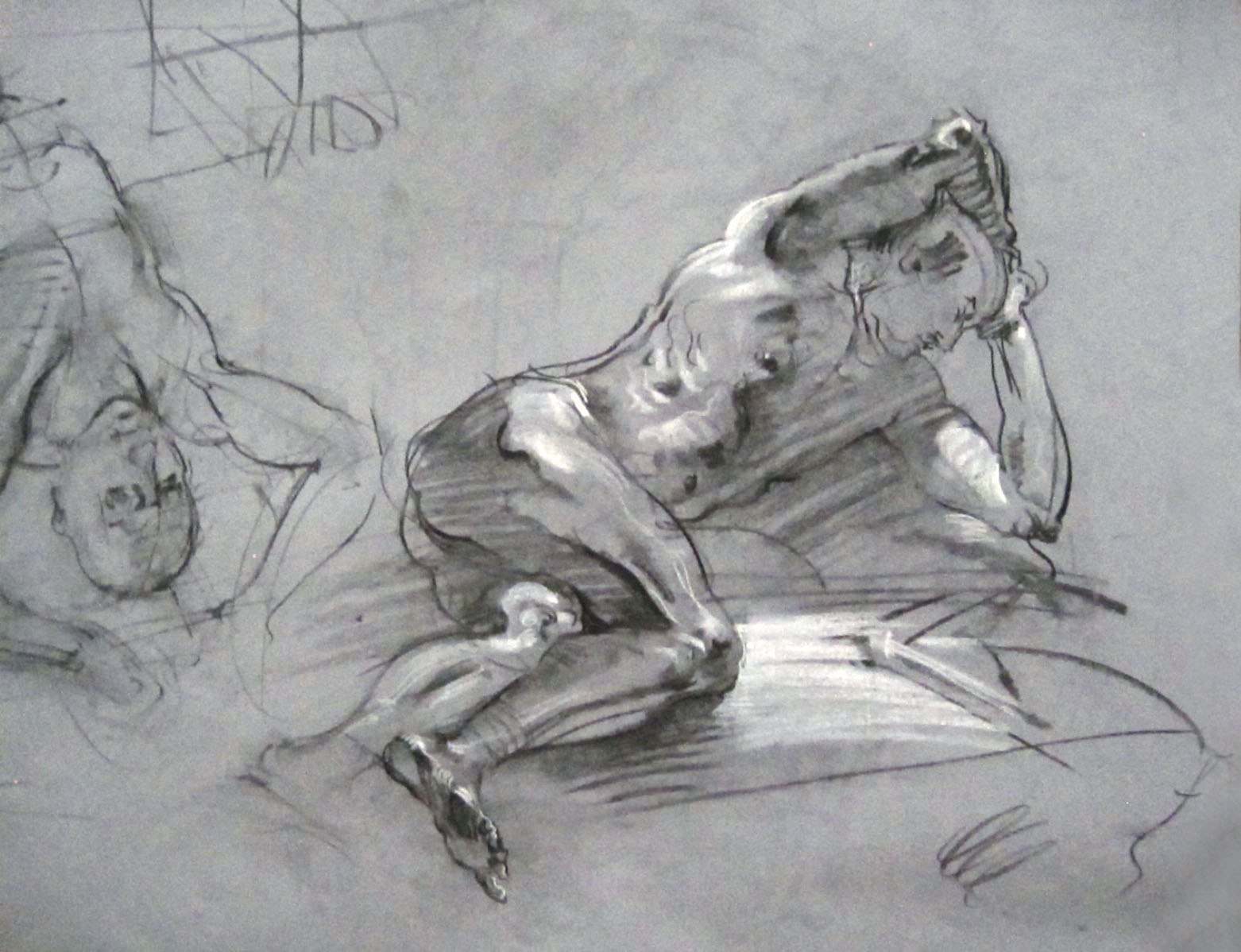 Living the Artist\'s Life: Artistic Anatomy Drawings