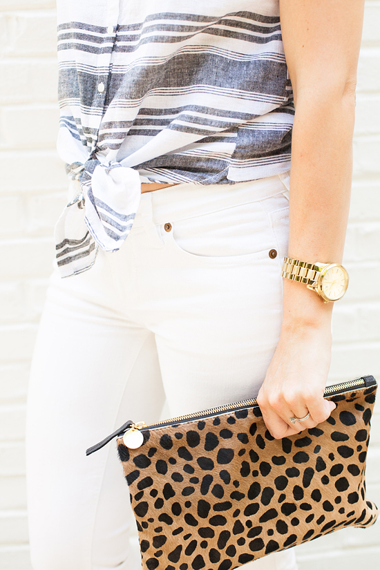 How to remix a sleeveless button down