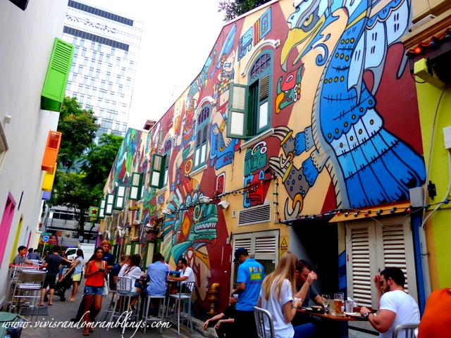 wall art at Piedra Negra, haji Lane