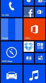 Windows Phone (main screen)