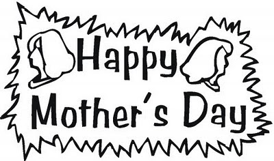 Mother Day Coloring Pages, Mother Day