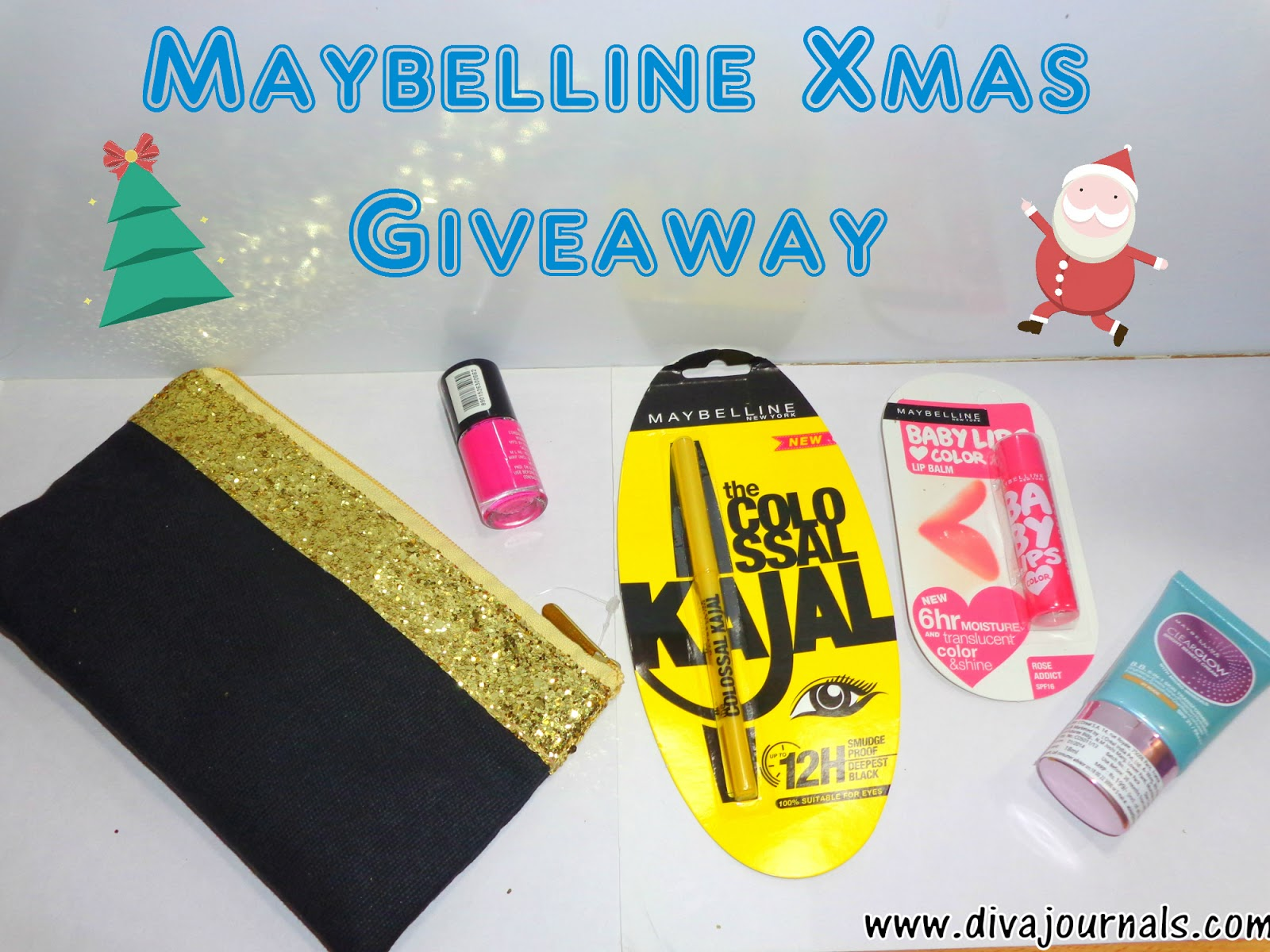 Maybelline Xmas Giveaway