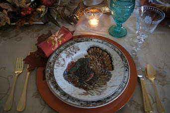 Thanksgiving Woodland Themed Tablescape (2016)