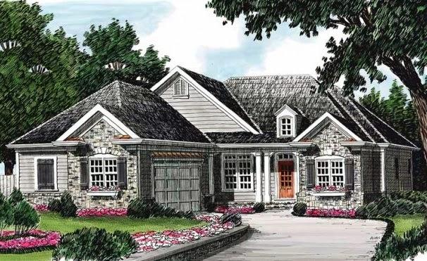 Fachadas de piedra modelos de casas con fachadas de piedra - Modelos de casas de piedra ...