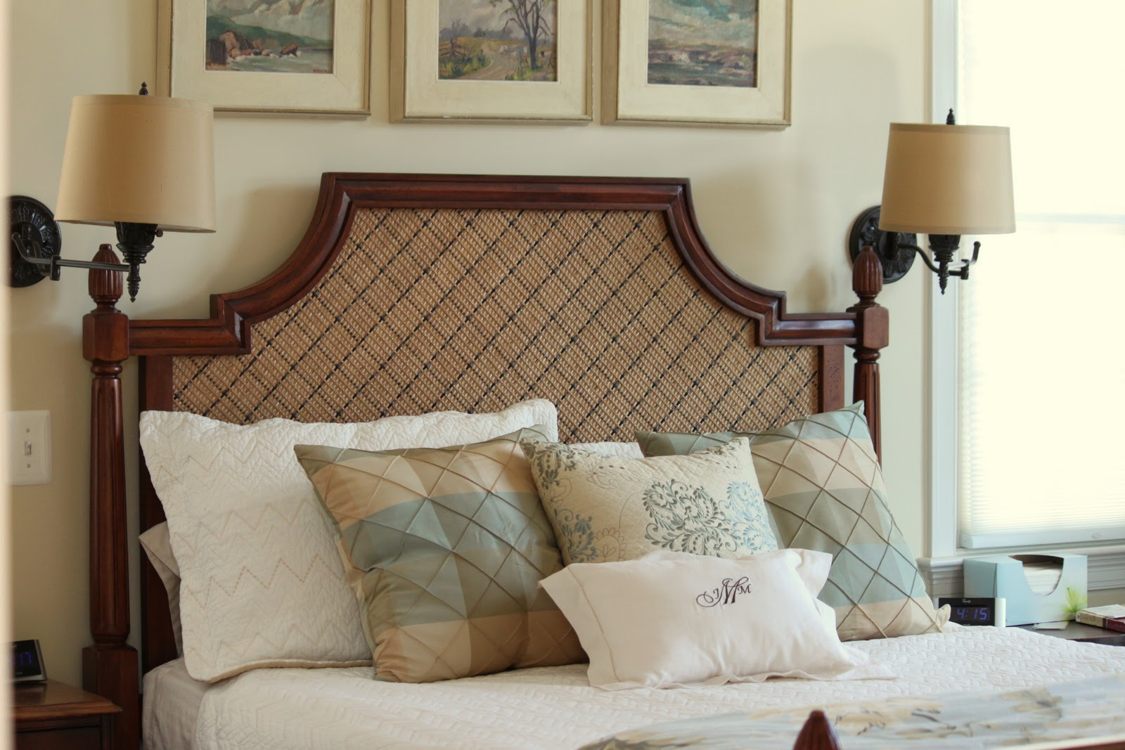 Popular Bed Makeover Upholstered Headboard and Footboard