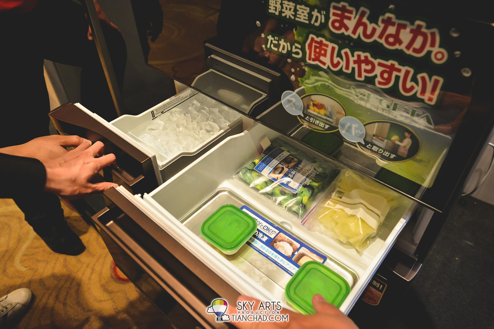 Hot Food Freezing allows hot food to be cooled in the freezer without the need for cooling down. Safe time!