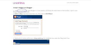 Install widget link