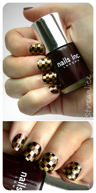 Nails Inc. Queensgate Mews swatch stamping