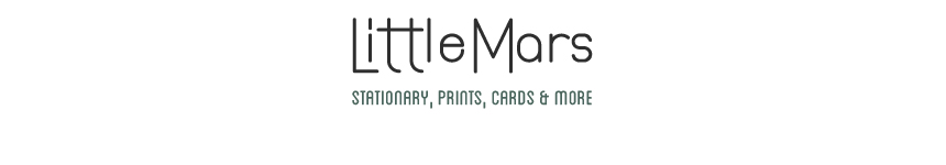 LittleMars - Stationary, Prints, Cards and More