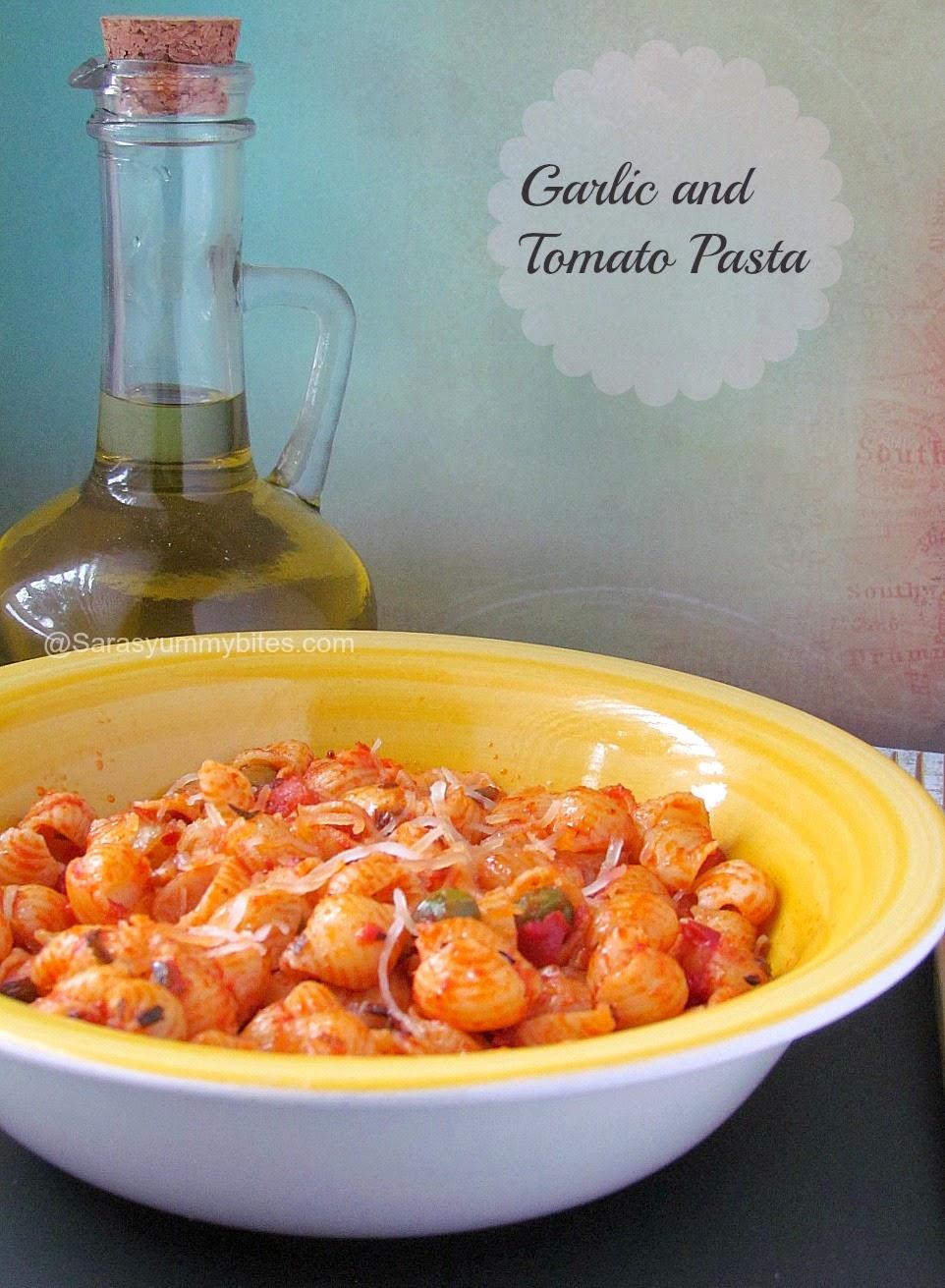 Garlic and Tomato Pasta