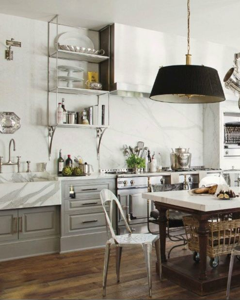 TG Interiors: The New Country Kitchen...Meets Industrial