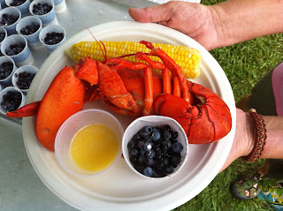 lobster dinner winter harbor