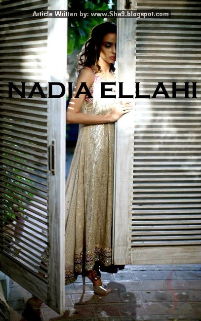 Absolute Bride 2015 by Designer Nadia Ellahi