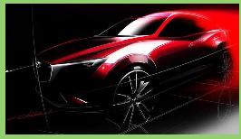 Primicia: el nuevo Mazda CX-3, en Los Ángeles