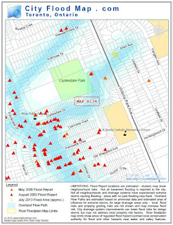 Overland flood Toronto
