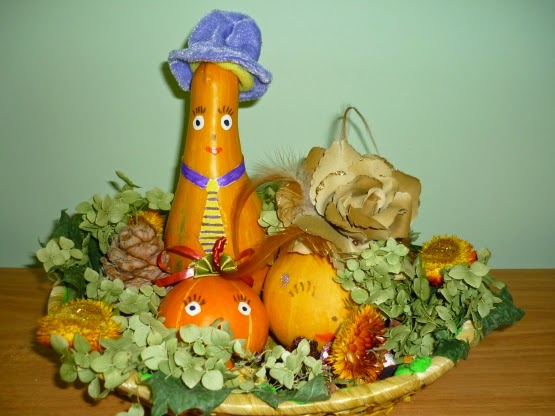 Панно на кухню своими руками из искусственных овощей 46