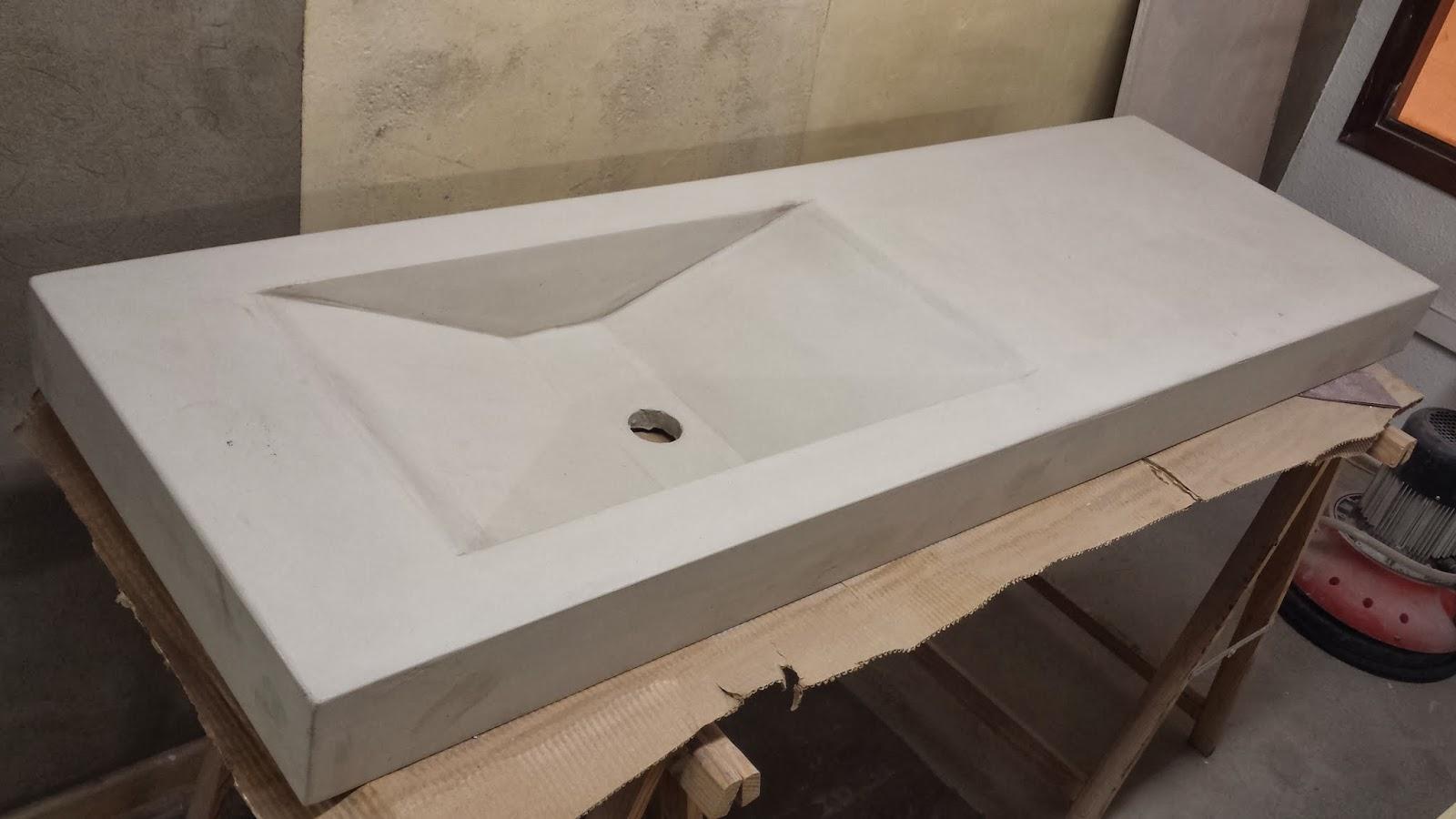 And n aplicaciones microcementosbarcelona es encimera de - Pared cemento pulido ...