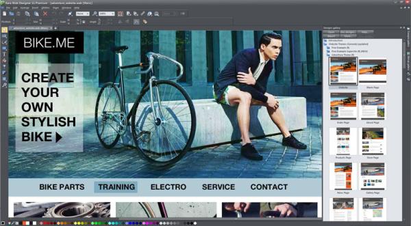Xara Web Designer Premium 11