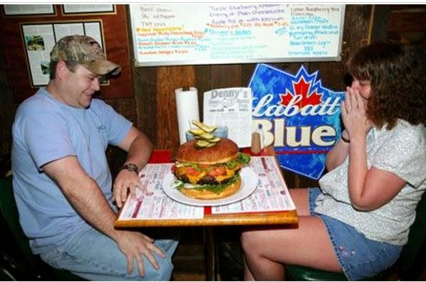 ilginç hamburger