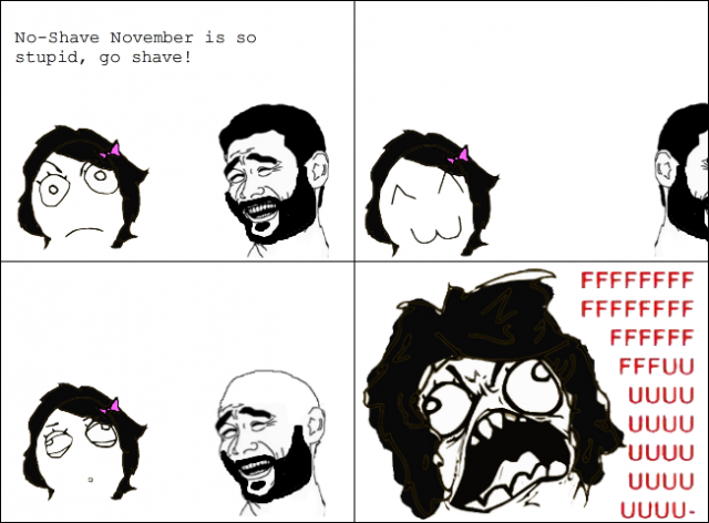 Funny Memes For November : No shave november funny meme memes and pics