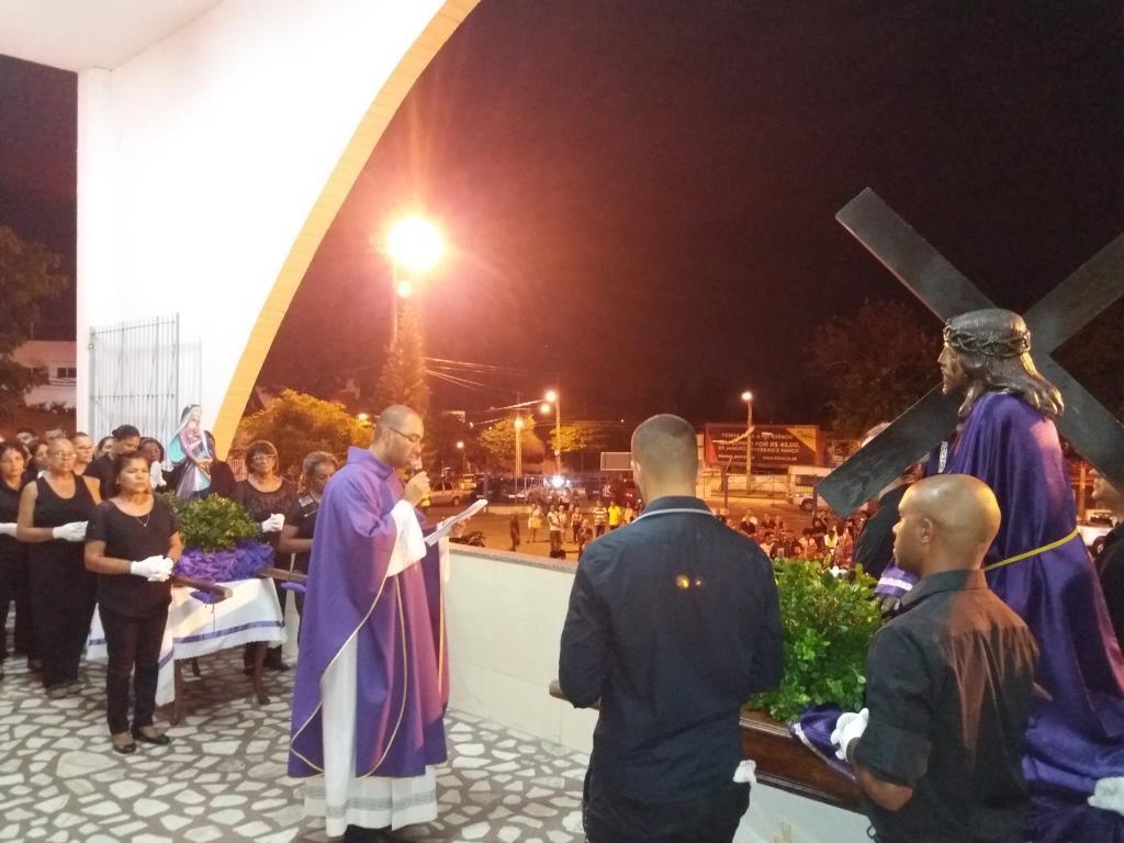 SEMANA SANTA 2018 - PROCISSÃO DO ENCONTRO NA PNSC-STA.CRUZ - EM 28/03/2018