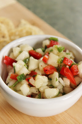 A refreshing fruit salsa