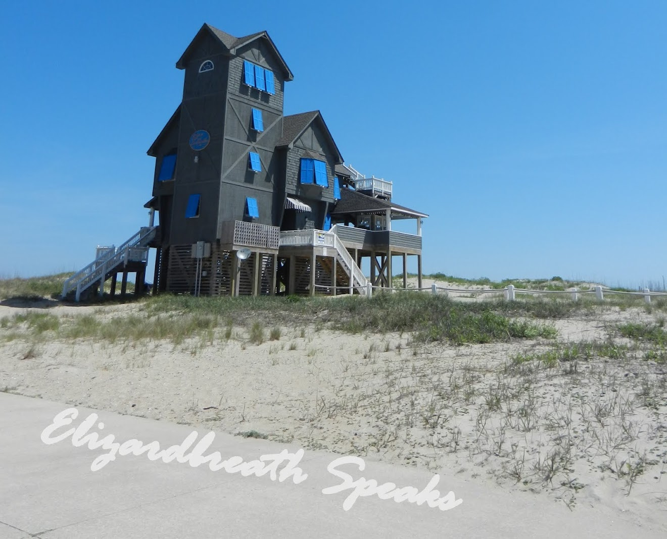 "Rodanthe, North Carolina (house from the movie ""Nights in Rodanthe"")"