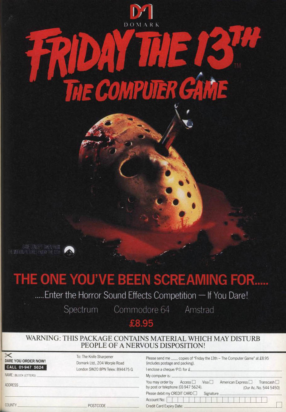 The 13th computer game controversy friday the 13th the franchise