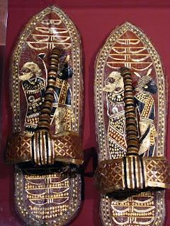 Sandalias de Tuntankamon