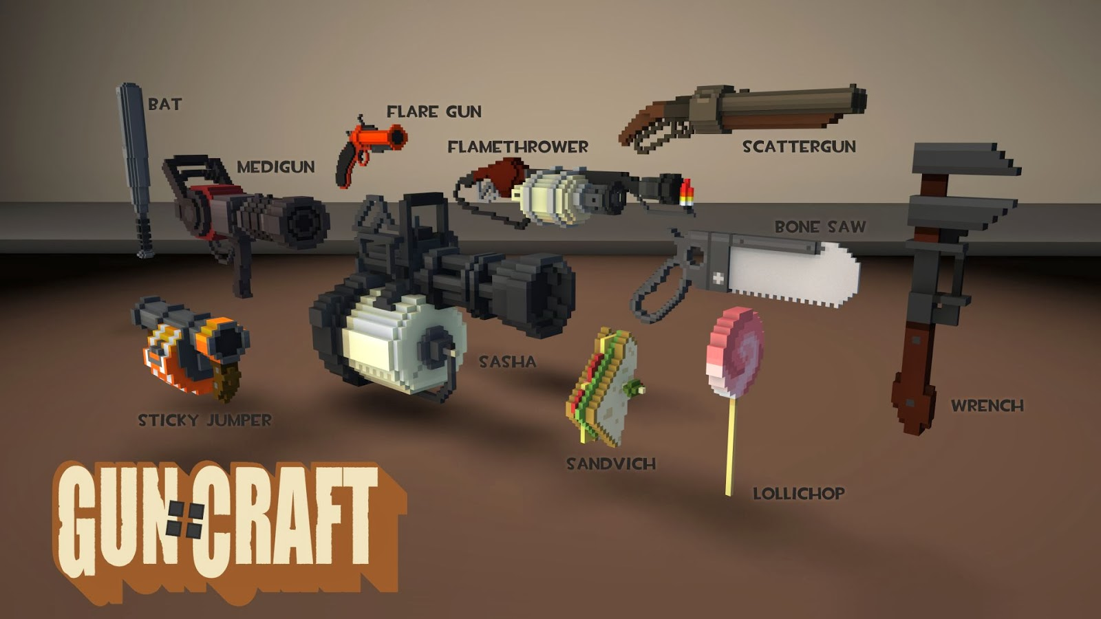 How To Craft Heavy Weapons Tf
