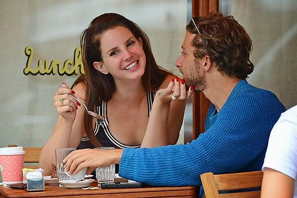 Lana Del Rey and Francesco Carrozzini in Coffee