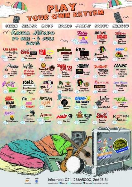 Jadwal PRJ 2015