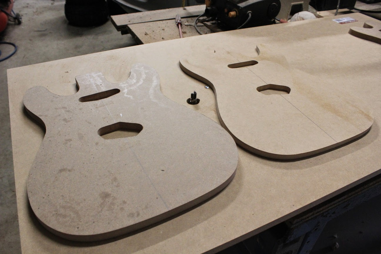 Guitar Kit Builder Scratch Builds New Mdf Templates Created