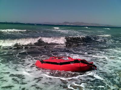 inflatable on Kos Beach 01
