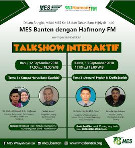 Talkshow Interaktif MES Banten