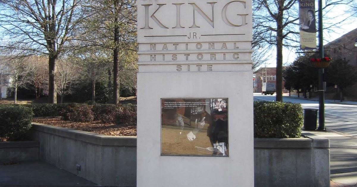 souvenir chronicles  atlanta  georgia  martin luther king jr  national historic site