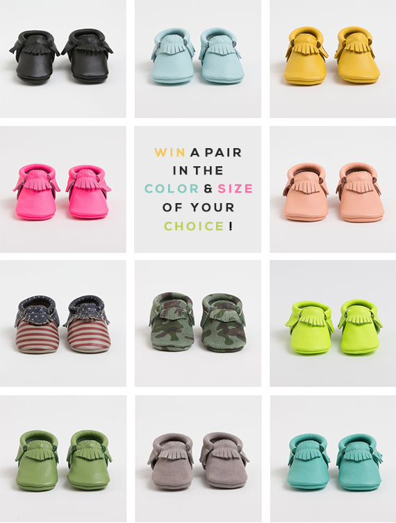 Win a Pair of Freshly Picked Moccasins at Bubby and Bean!