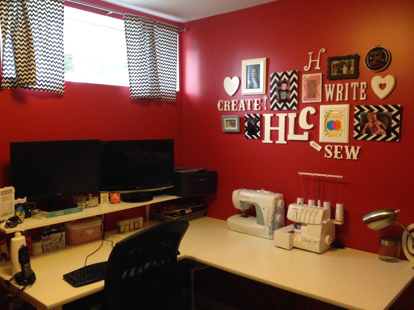 My office / craft room