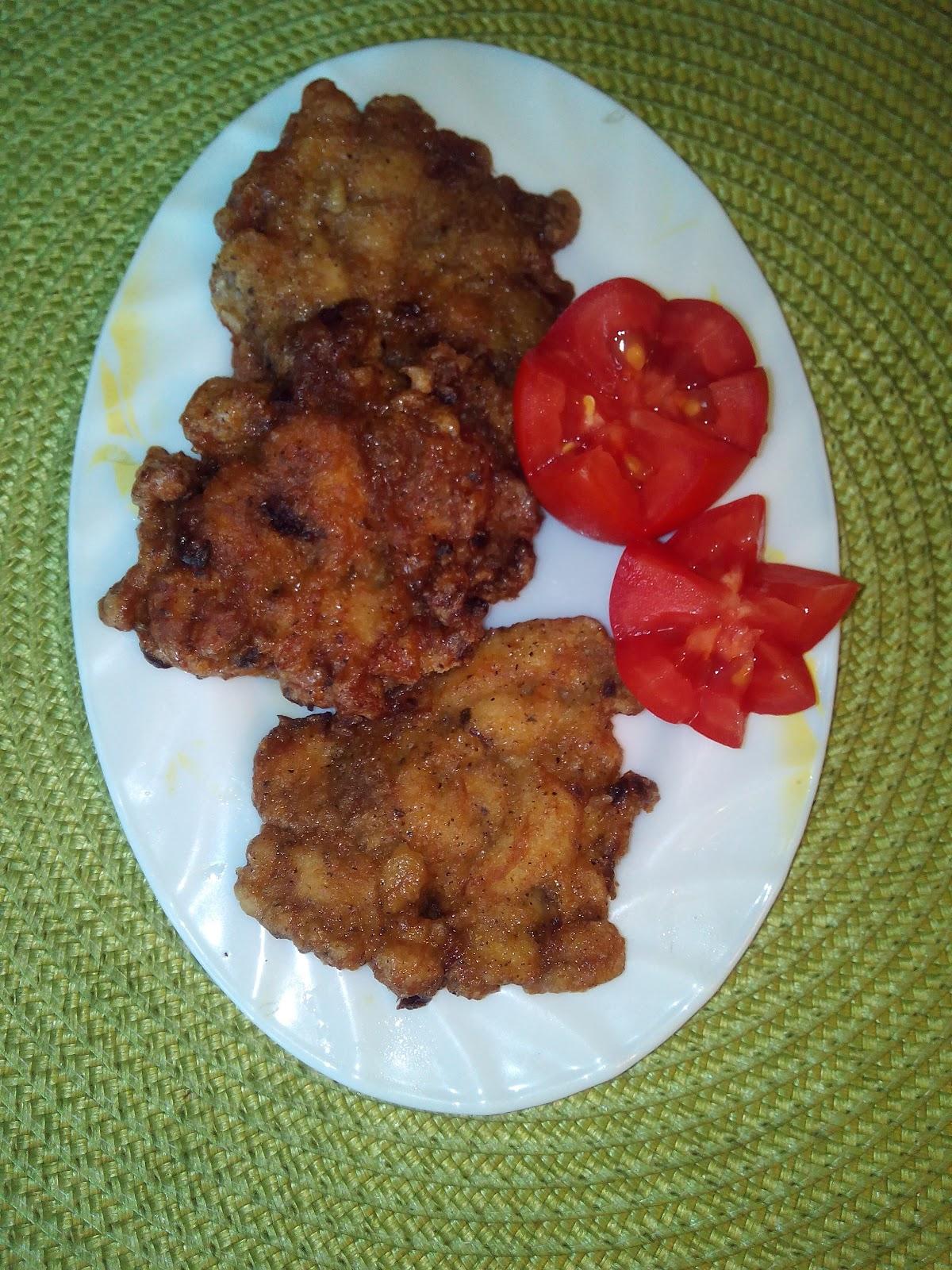Рецепт куриных растрепок
