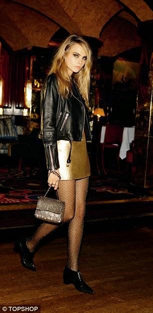 """الموديل """"كارا ديليفين"""" في صور مميزة لأزياء مختلفة"""