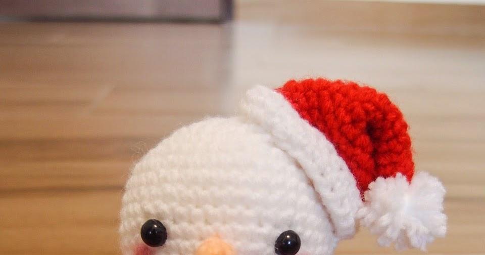Amigurumi Snowman : Snowman amigurumi snacksies handicraft corner