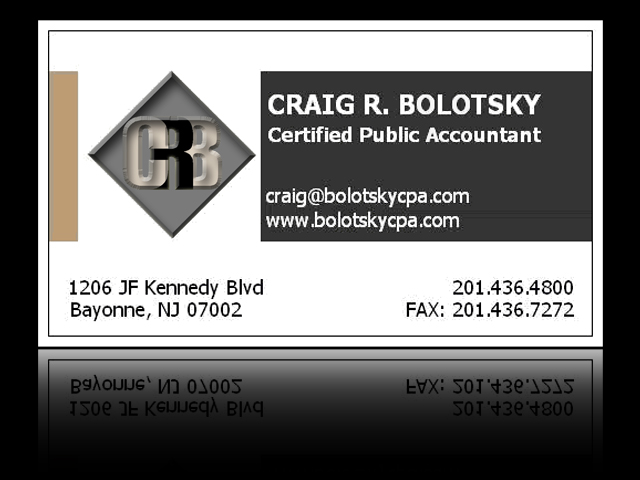 Accountant Business Cards4