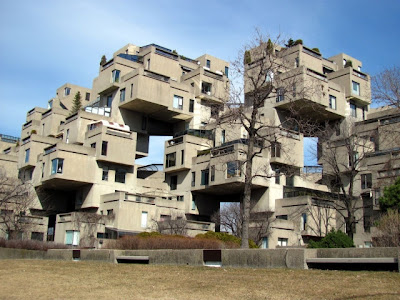 habitat montreal expo 67 - moshe safdie architects