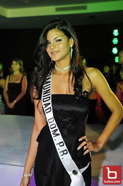 Nuestro deseo es que Georgina Pérez, se llevé  la corona de Miss RD Universo
