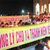 Những Ngọn Nến Hiệp Thông Với Các Thanh Niên Yêu Nước và LS Lê Quốc Quân Đang Toả Lan Từ Giáo Phận Vinh
