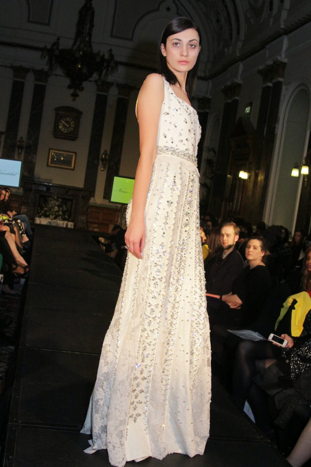 Nina Naustdal at Birmingham Fashion Week