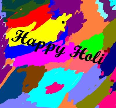 Image showing Colorful Holi