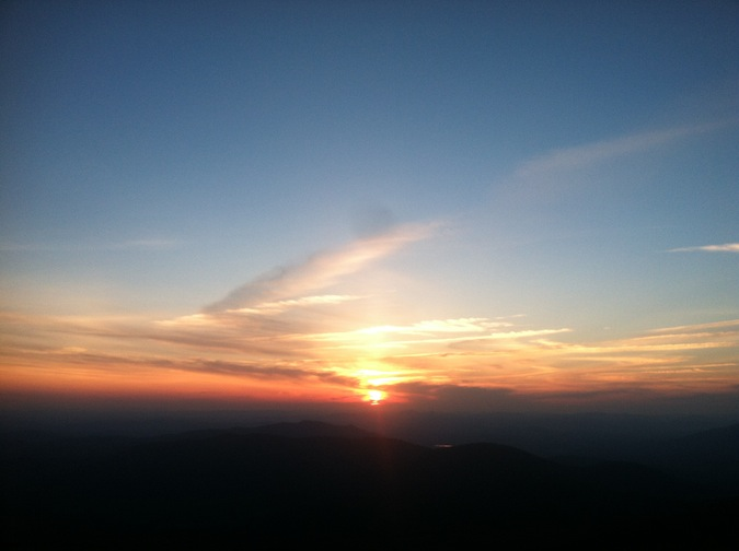 Summer Solstice Skyscape >> Reading The Skyscape Appalachian Mountain Club